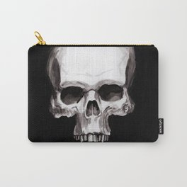 Skull on Black Carry-All Pouch
