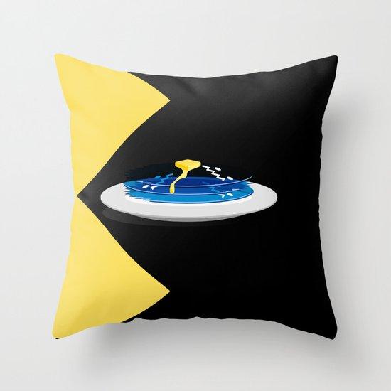 Pac-Cakes Throw Pillow
