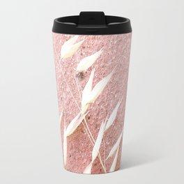 Blush Pink Plant Travel Mug