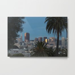 SF views Metal Print