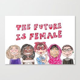 Future is Female Canvas Print