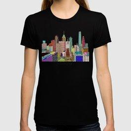 Philadelphia city sklyine T-shirt