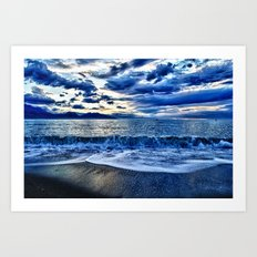 Sunrise over the South Pacific Art Print