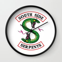 Southside Serpents-Riverdale Wall Clock