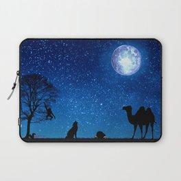 Animals under the moon by GEN Z Laptop Sleeve