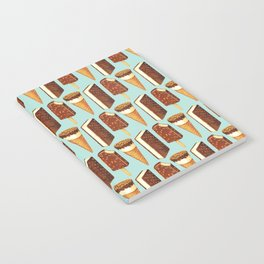 Ice Cream Pattern - Popsicles Notebook