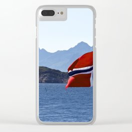 flag of Norway Clear iPhone Case