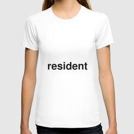 resident T-shirt