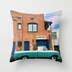 West LA Truck Throw Pillow