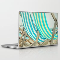 depeche mode Laptop & iPad Skins featuring Vacation Mode by The Last Sparrow