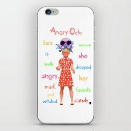 Angryocto - Sara's Candy iPhone Skin