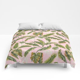 Banana leaf party Comforters