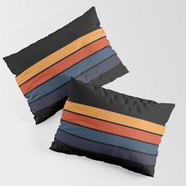 Classic Retro Stripes Design Pillow Sham