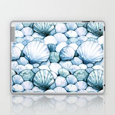 Sea Shells Teal Laptop & iPad Skin