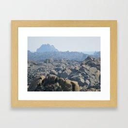 Another Alien Landscape Framed Art Print