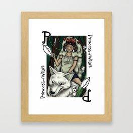 Princess of Wilds Framed Art Print