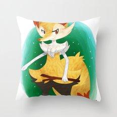 Braixen Pokemon Throw Pillow