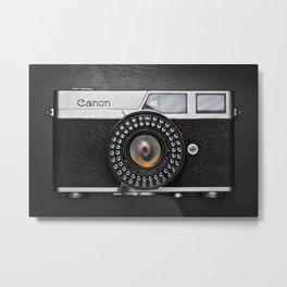 Classic Canon Metal Print