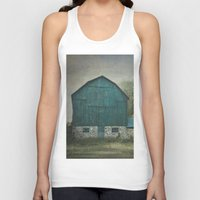 rustic Tank Tops featuring Rustic Barn by Pure Nature Photos