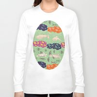 coral Long Sleeve T-shirts featuring Coral  by Kirpa