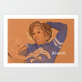 Blerd Confidential  Art Print