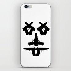 Pistol Face iPhone & iPod Skin