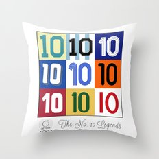 The No. 10 Legends Throw Pillow