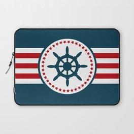 Sailing wheel 2 Laptop Sleeve