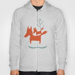 Love me love my foxes.  Hoody