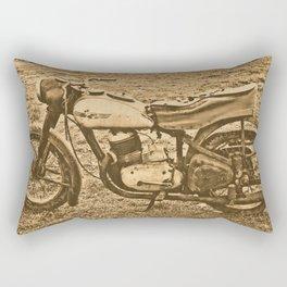 Jawa motorcycle Rectangular Pillow