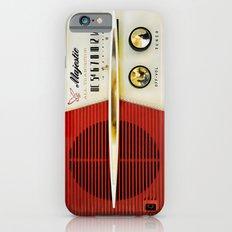 Classic Old Vintage Retro Majestic radio iPhone 4 4s 5 5c 6, ipad, pillow case, tshirt and mugs iPhone 6 Slim Case