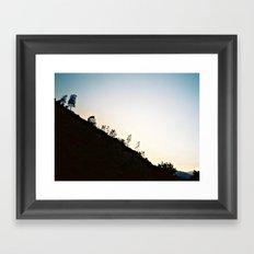 Mountain Dusk Framed Art Print