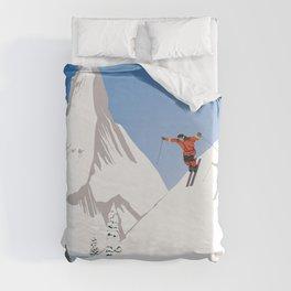 Zermatt, Valais, Switzerland Duvet Cover