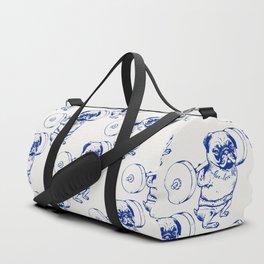Pug Squat Duffle Bag