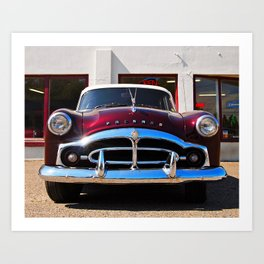 Purple Packard Art Print