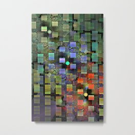 Blocked and Unbound Metal Print