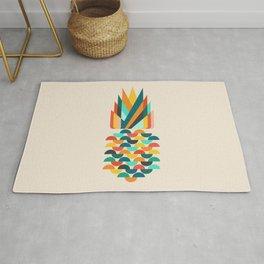 Groovy Pineapple Rug