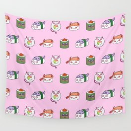 SUSHI PATTERN Wall Tapestry