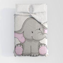 Pretty Pachyderm Comforters