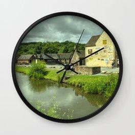 Coalport Canal  Wall Clock