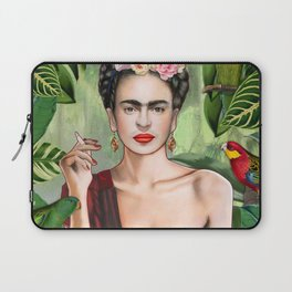 Frida con Amigos Laptop Sleeve
