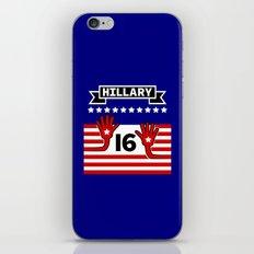 Hillary 2016 iPhone & iPod Skin