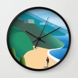 Big Sur Wall Clock
