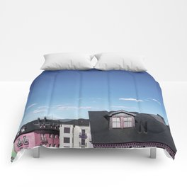 Candy rooftops Comforters