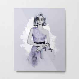 Parisienne Metal Print