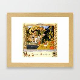 White Duck Framed Art Print