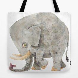 Elephant squared Tote Bag