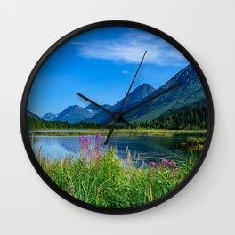 God's_Country 4129 - Alaska Wall Clock