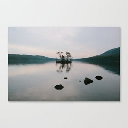 Moose Pond, Maine Canvas Print