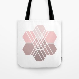 Hex-a-daisy Tote Bag